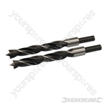 Lip & Spur Drill Bits - 16mm 2pk