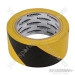 Hazard Tape - 50mm x 33m Yellow/Black