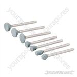 Rotary Tool Grinding Stone Set 7pce - 6-12mm Dia