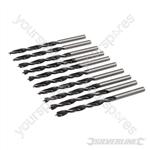 Lip & Spur Drill Bits - 4mm 10pk