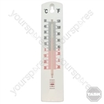 Indoor/Outdoor Stick-On Thermometer - -40° to +50°C
