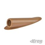Plastic Plugs - Light Brown