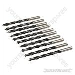 Lip & Spur Drill Bits - 6mm 10pk