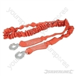 Elasticated Tow Rope 4 Tonne - 4m x 50mm