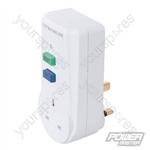 Plug-in Active RCD 13A UK - 250V~ 50Hz