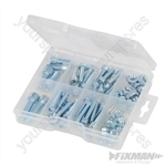 Cap Screws & Nuts Pack - 75pce