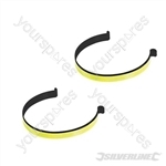 Reflective Cycling Trouser Clips - Pair