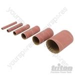 Aluminium Oxide Sanding Sleeves 6pce - TSS80G Sanding Sleeves 6pk 80G