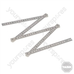 Plastic Folding Ruler - 1m