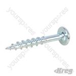 "Zinc Pocket-Hole Screws Washer Head Coarse - No.8 x 1-1/4"" 250pk"
