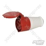 16A Socket - 400V 5 Pin
