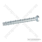 Concrete Masonry Bolts 10pk - M10 x 100mm