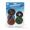 Twist Button Disc Kit 6pce - 75mm