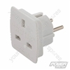 UK-EU Travel Adaptor - 220 - 240V