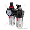 Air Filter Regulator & Lubricator - 150ml