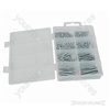 Self-Tapping Screws Pack - Pan 130pce