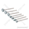 Silicon Stones Set 7pk - 3.1mm dia Mandrel