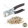 Eyelet Pliers + Eyelets Display Box 30pce - 145mm