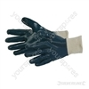 Full Coat Interlock Nitrile Gloves - One Size