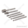 HSS Router Cutter Set 6pk - 3.1mm dia Mandrel