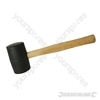 Black Rubber Mallet - 32oz