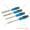 Expert Wood Chisel Set 4pce - 6, 13, 19 & 25mm