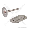 Vented Diamond Cutting Disc Kit 6pce - 22mm
