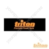 Triton Toolbar Header - Triton Header 945 x 295mm