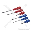 Assorted Cabinet Screwdriver Set 6pce - 6pce